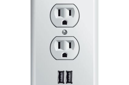 electric outlet usb included